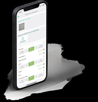 Recevez et consultez vos résultats d'analyses biologiques sur votre smartphone